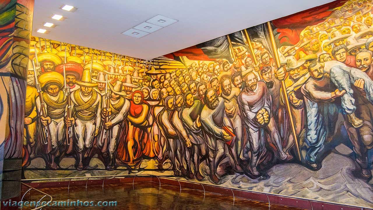 Mural do Castelo Chapultepec