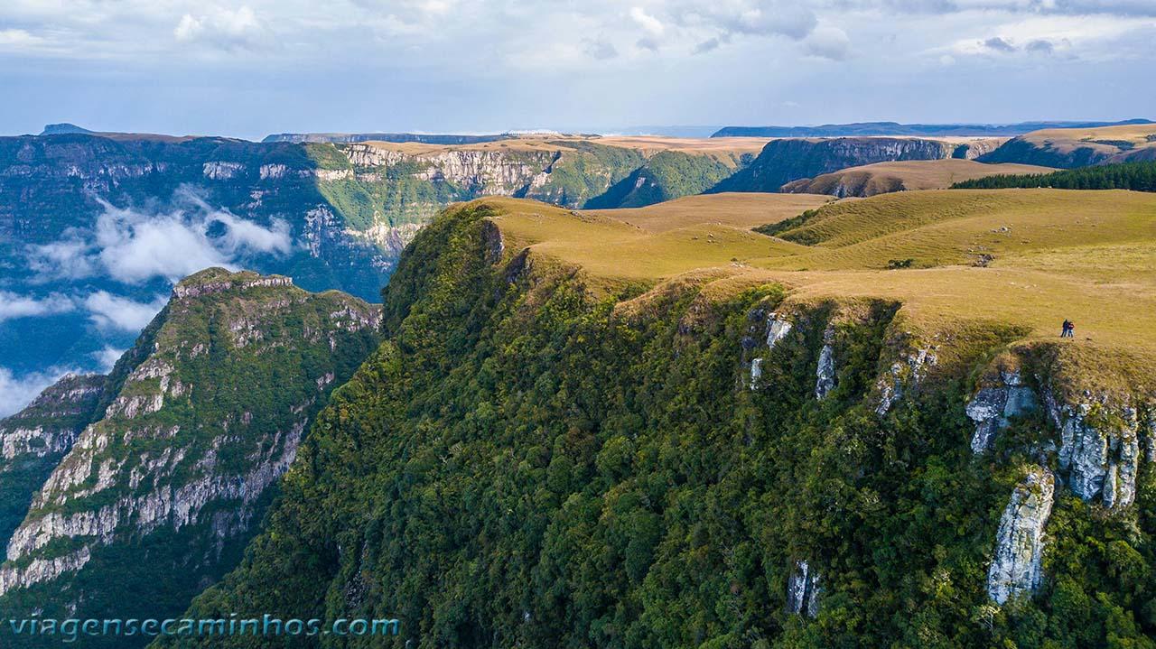 Norte do Cânion da Boa Vista
