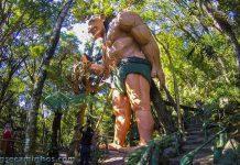 Gigante no Parque Florybal - Canela