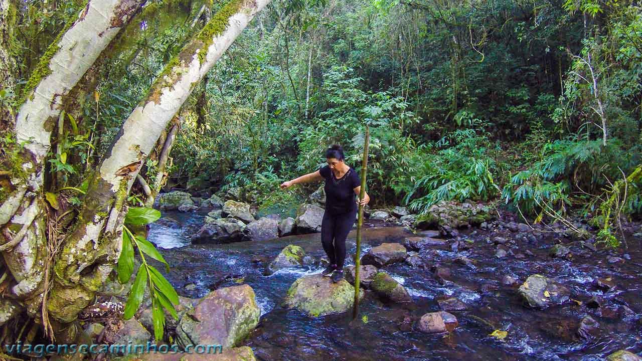 Trilha da Cascata das Andorinhas - Rolante - RS
