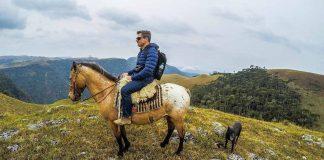 Passeio a cavalo na fazenda Morro da Cruzinha - Ausentes