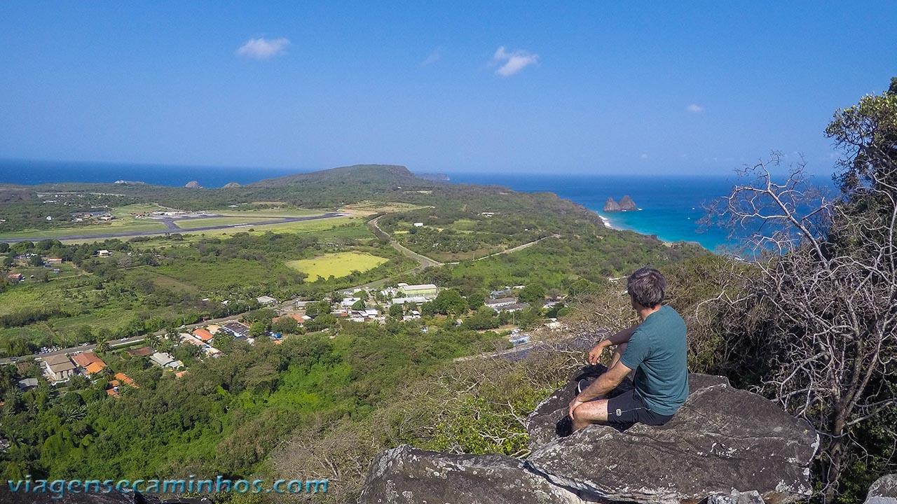 Vista da trilha do Piquinho - Fernando de Noronha