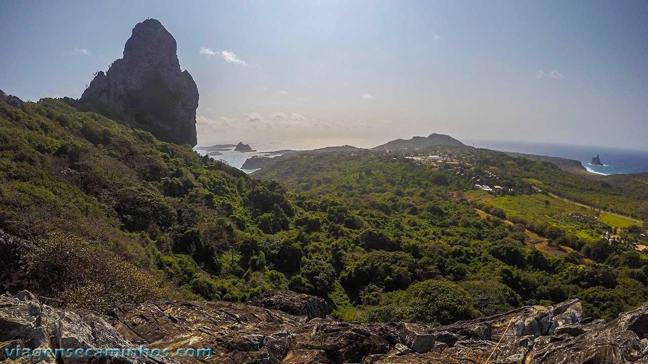 Vista do Piquinho e Morro do Pico
