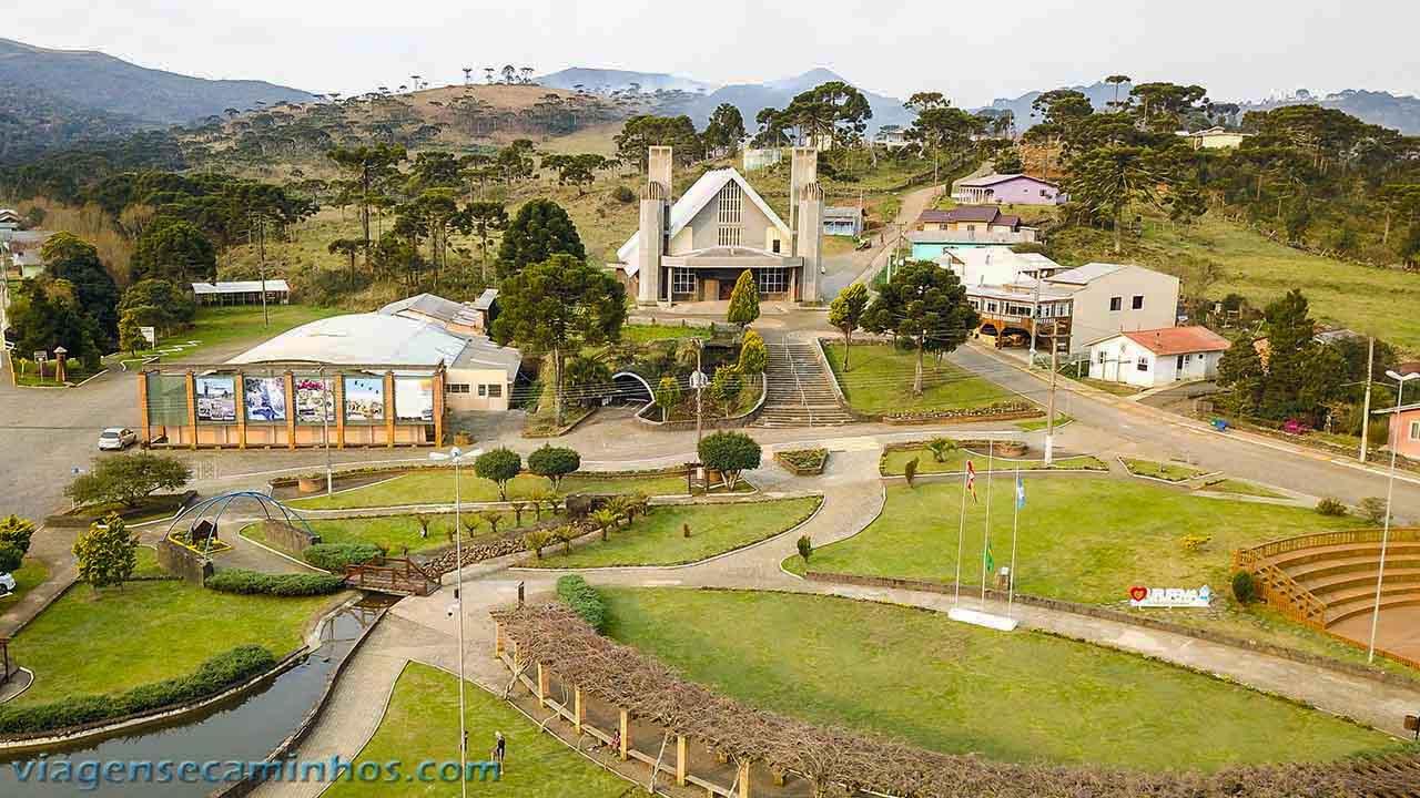 Igreja matriz Sant'ana - Urupema