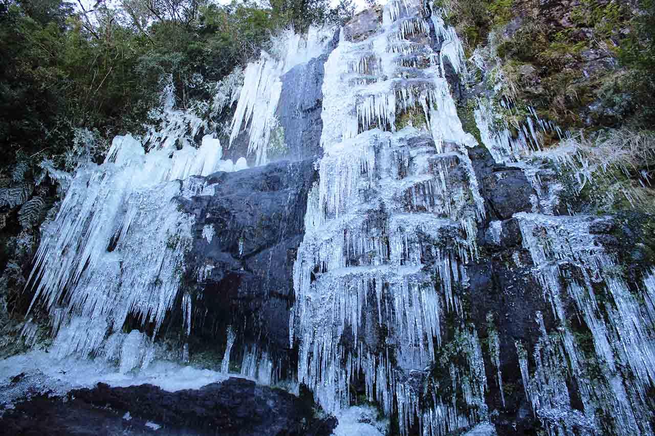Cascata que congela - Urupema