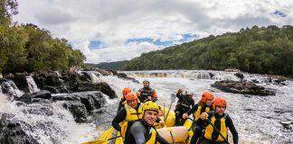 Rafting no Rio Pelotas